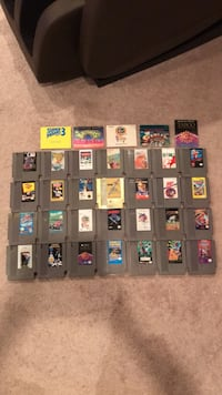 28 Nes games and 5 manuals Greenbelt, 20770