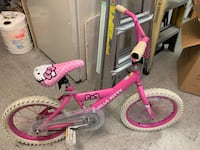 toddler's pink and white bicycle West Palm Beach, 33415