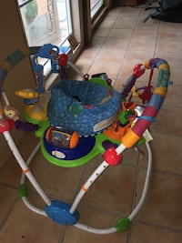 Baby's blue and green jumperoo Lakeway, 78734