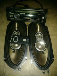Car audio and speakers like new condition  Upland, 91786