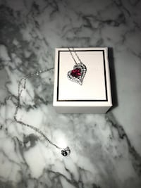 Peoples jewellery heart necklace  Toronto, M2J 4A6