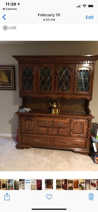 brown wooden cabinet with drawer Frederick, 21704