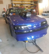 Full race chassis 1986 Mustang lx with 1988 front  Brampton, L6W 1V2