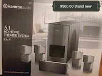 black and gray home theater system Albuquerque, 87107