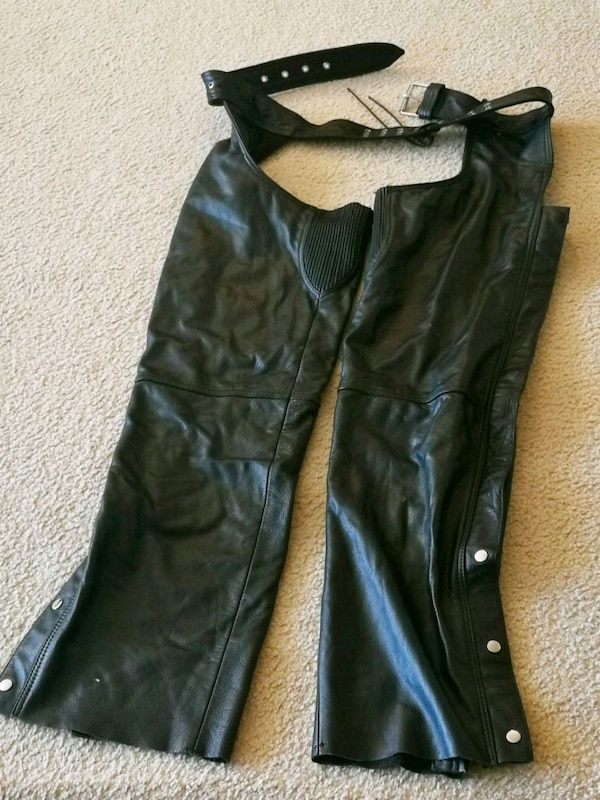 Motorcycle Leather Man Chaps XL