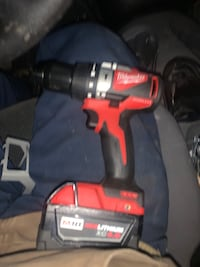 M18 fuel hammer drill and 4.0 battery