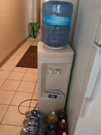 blue and white water dispenser Houma, 70360