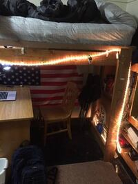 Wooden Bed Loft (Twin/Twin XL) State College