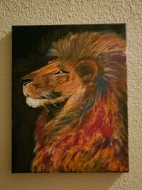Painting Lion