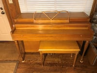 Used 1954/55 Lester Spinet Piano with Bench Franklin