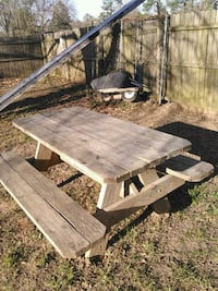 Made to order All treated picnic table assorted sizes available