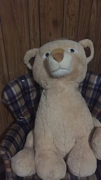 white and brown bear plush toy Gaithersburg, 20877