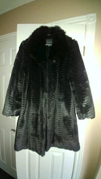 Black Faux Fur Coat Vaughan, L4L 6L7