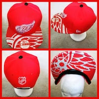 red and white Chicago Bulls fitted cap District Heights, 20747