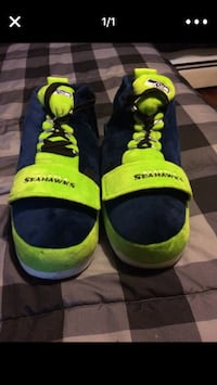 Men's Seattle Seahawks slippers North Providence, 02911