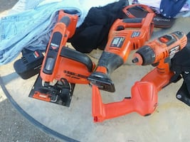 Tools black and Decker chargers burned out 2 batterys