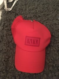 Red and black fitted cap Mississauga, L4Z 2X4