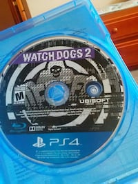 Watchdogs 2 Sony PS4 game disc with case Prescott, 54021
