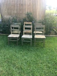 brown wooden table and chairs Kenly, 27542