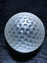 Tiffany and Co. frosted golf ball paperweight  A wonderful gift for the golfer in your family or for that special someone genuine Tiffany and Company.  A vintage item no longer available. Millersville, 21108