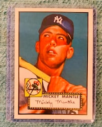 Mickey Mantle Rookie Card(Probable reprint) Virginia Beach, 23452