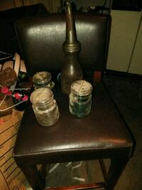 (4) old glass containers Forney, 75126