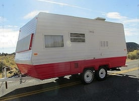 1978 Vintage Camper Classic Travel Trailer everything works as it should.
