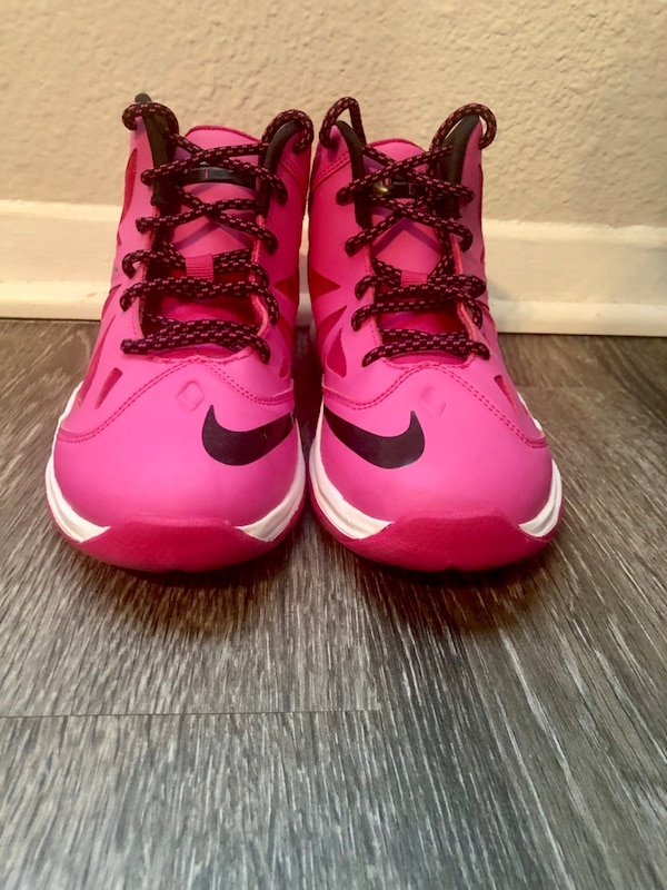 separation shoes f9caf 5591c Used Nike Lebron x 10 Fireberry size 2.5y for sale in Austin - letgo