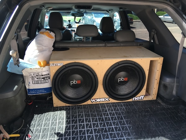 How To Build A Sub Box >> Used Custom Sub Box Build For Sale In Colorado Springs Letgo