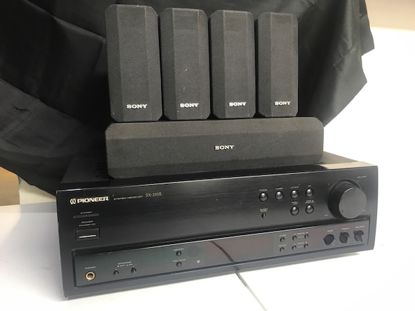 Pioneer And Sony Home Entertainment Speaker System Usado En Venta En