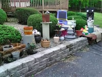 Outdoor Furniture and various yard pieces