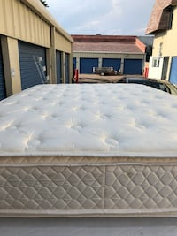 Full Mattress with boxspring- Delivery Available  Aurora, 80045