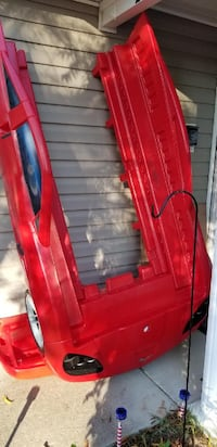Red race car bed  Columbia