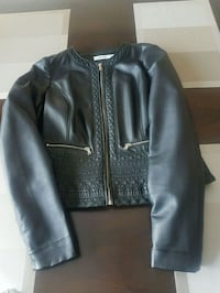 Pleather jacket - size medium