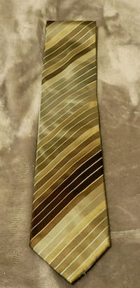 Kenneth Cole Green and Brown Stripe Tie Redlands, 92374