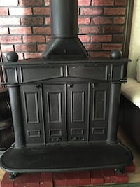 Iron Black Wood stove 127 mi