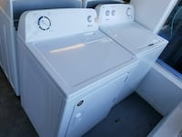 white Amana clothes washer and dryer set Gainesville