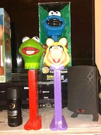 Kermit the Frog Miss Piggy and the Cookie Monster Geraldine, 35974