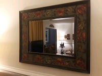 Mirror with floral frame Richmond