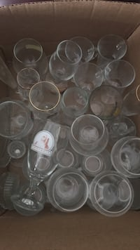 Glass cups and glasses  Thomasville, 27360