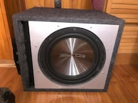 """12"""" 1000W Subwoofer with MTX amplifier"""