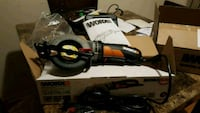 black and red Milwaukee corded angle grinder with box Passaic, 07055