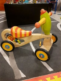 Ride on wooden toy