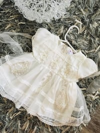 New flower girl fancy party dress for 3?to 6 months Calgary, T3K 6J7