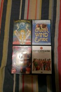 I have 4 live concert DVD's Earth wind and fire Upper Marlboro, 20772