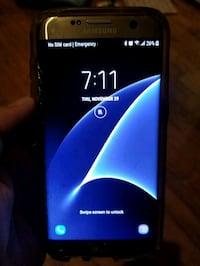 At&t Samsung Galaxy S7 Edge Android smartphone Porterville, 93257