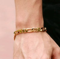 gold-colored chained bracelet Winnipeg, R2W