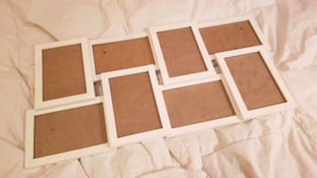 White Collage Picture Frames 4x6 Photos