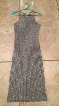 women's knitted gray cami dress Mission, 78574