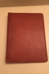 Leather 2 Inch Binder / Real Leather 3 Rings